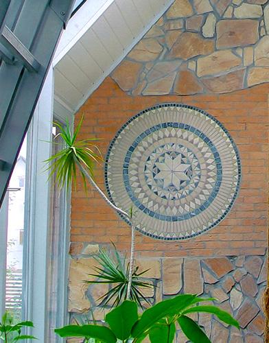 Wandgestaltung mit Polygonalplatten