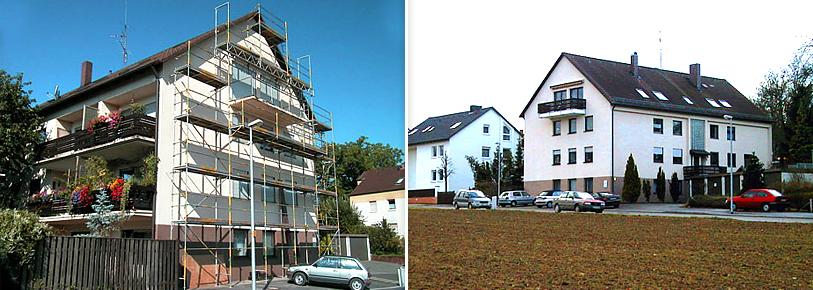 Wolkersdorf - Vorher / Nachher
