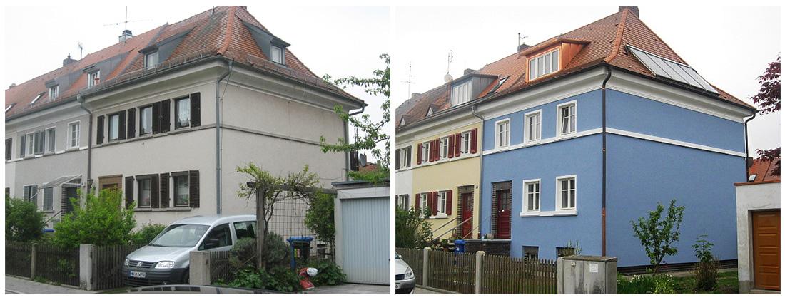 Gräfenberger Straße - Vorher / Nachher